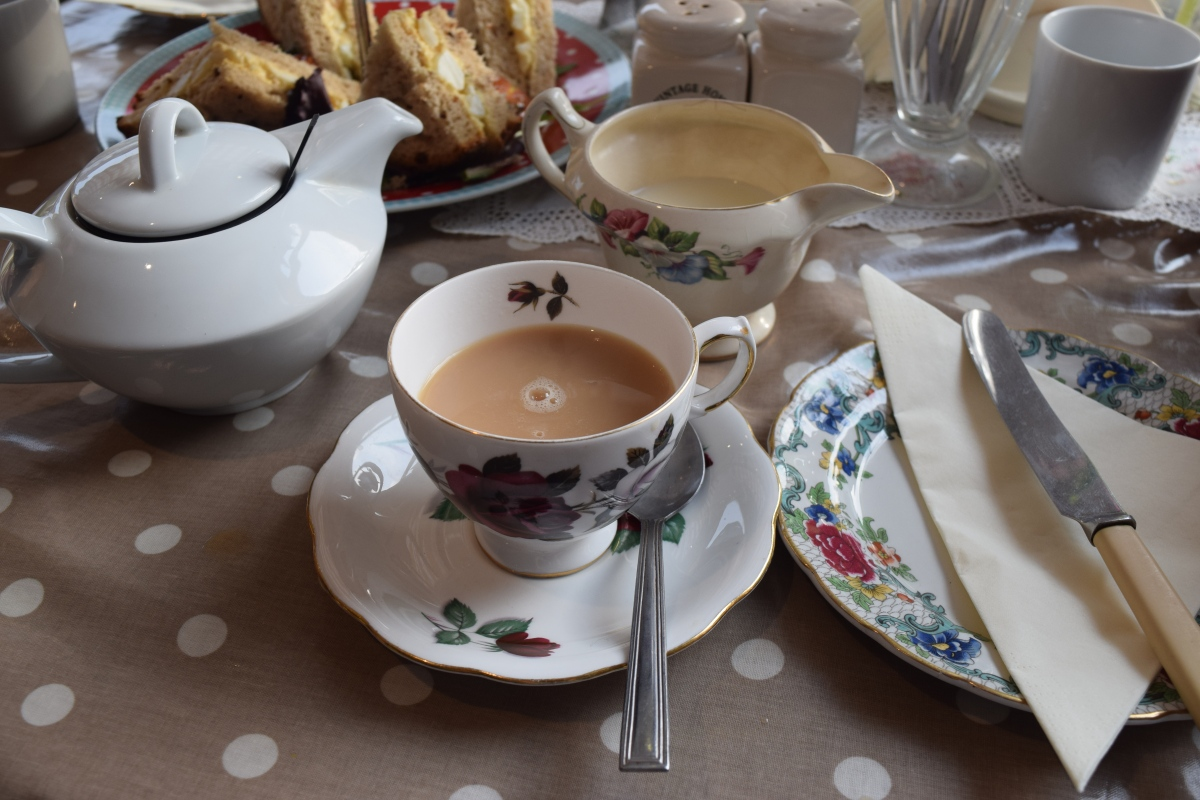 Dorset Cream Tea Empty Plates