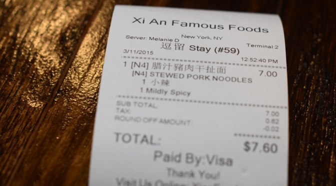 Cheap Eats: Xi'an Famous Foods