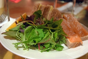 Villandry_Tea_Set_Ham_and_Cheese_Sandwich_Salmon_Tartine